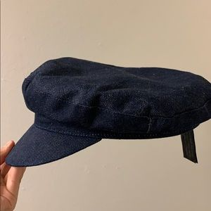 ZARA Blue Denim Hat
